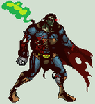 Superman Zombie by daremaker