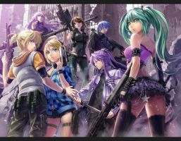 Vocaloids by Lukavocaloid