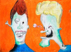 Psycodelic Beavis and Butthead by GaussianCat