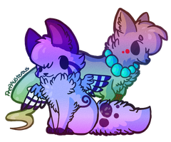 :Lilac and Tye: by PrePAWSterous