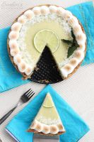 Lime pie piece by kupenska