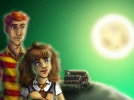 Goblet of Fire preview  - duo by scruffyzero