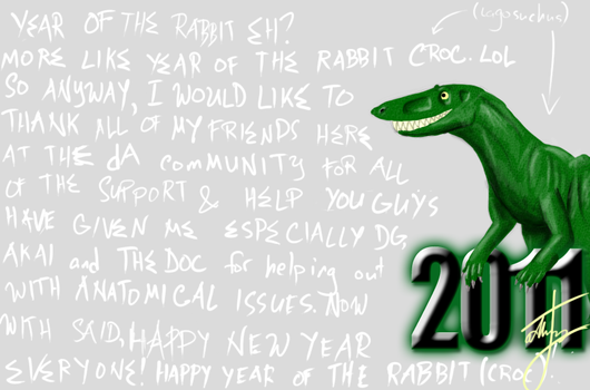 Happy New Everyone by Carnoraptor69