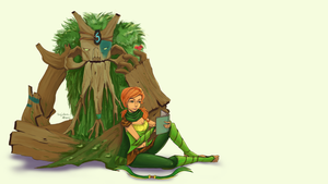 Commission: WR + Treant by Sajedene