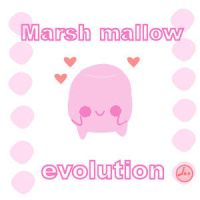 marsh mallow evolution by LouBerry