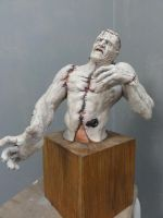 Frankenstein's Monster Painted 2 by Mutronics
