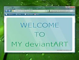 Welcome To My devianART by Timpi100