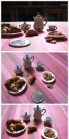 Croissant and Cookies by alicoe