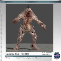 Ogroman RE6 Neonato by Adngel