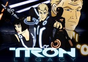 Tron Legacy by mmcfacialhair