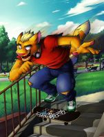 Skater Boy by ANGO76