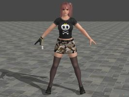 DOA5 LR Honoka Costume 5 (Updated) by zareef
