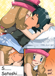 Love poison Amourshipping doujin 5 by hikariangelove