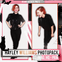 Photopack PNG / Hayley Williams / 70 by PamHoran