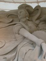 Sand sculpture 1 by Hoppiej
