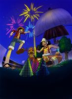 OP: YAY FIREWORKS by msadagal