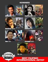 BEST INTERNATIONAL ARTIST by komikon