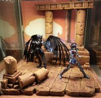 Saint Seiya - Diorama - Lost Canvas 3 by dru69