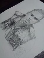 Drawing Chris Brown.... by MontyKVirge