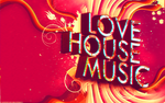 i love house music - Anaglyph by Hernanarce