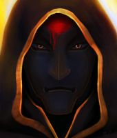 Amon Redesign Concept for fanfic The Cave II by kunibob