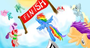 Push to the Finish by RussianKolz