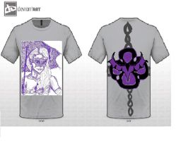 Vampiress Mythical Creature T-shirt Entry by Mitsuki---13