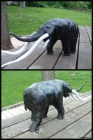 Elephant Sculpture by todd587