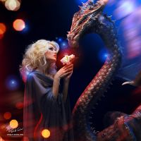 Dragon's Tale. Starlight. by Vitaly-Sokol