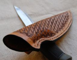 Mora Clipper sheath by swietyleather