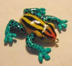 Poison Dart Frog Charm by SolarCrush