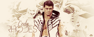 Cody Rhodes Signature by WHU-Dan