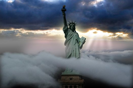 Statue of liberty by zex1