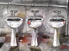 The 3 sinks by altergromit
