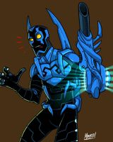 HU 60 - Blue Beetle by SeanRM