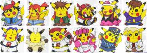 Pokemon Chu's Series 4 by pikabellechu