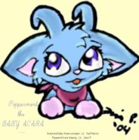 Peppermint- by baby acara by janni-chan