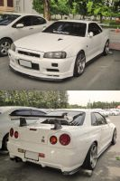 White clean R34 by zynos958
