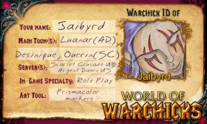 My Warchick ID by Jaibyrd
