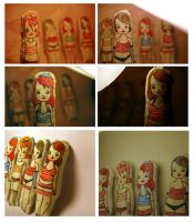 New brooch girls by perfectnoseclub