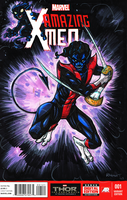Nightcrawler Sketch Cover Color by RayHeight