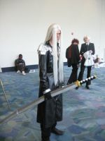 Sephiroth Cosplay 02 by Knightfourteen
