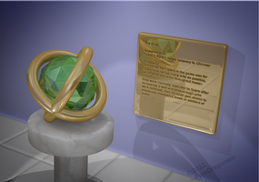 3D Video Game Museum: Spyro Orb by PyroDragoness