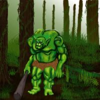Swamp Ogre by meb1982
