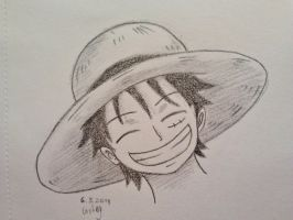 Luffy 1 by ElficMoon