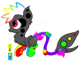 [AUCTION] Neon Rave Plant Pony [CLOSED] by NeoceItia