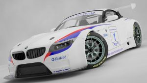 BMW Z4 GT3-3 by punkandroll