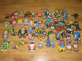 Brawl Bead Sprites by gfroggy87