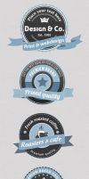 Logo Badges by imagearea