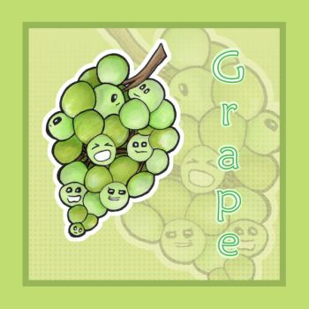 Grape Faces by Idle-Emma